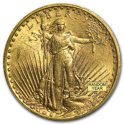 $20 Saint-Gaudens Gold Double Eagle BU (Random Year) - SKU #97088
