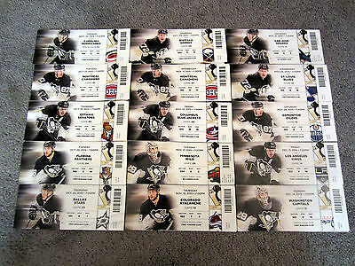 Pittsburgh Penguins vs Los Angeles Kings TICKET STUB 12-11-2015 GAME 14 Malkin