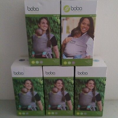 NEW Boba Baby Wrap, Baby Carrier, Multiple Colors LOOK