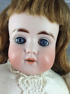 Antique Bisque Head German Doll Kid Body ABG 698 1/2