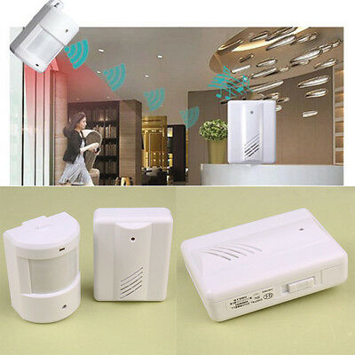 Wireless Infrared Sensor Detector Door Gate Entry Bell Alert Alarm Doorbell