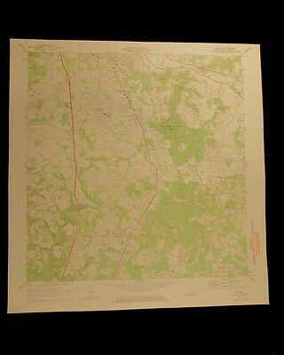 Lily Kentucky vintage 1972 original USGS Topographical chart