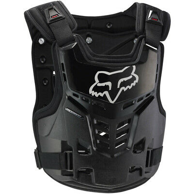 Fox Proframe Motocross Adult Mx Body Armour Chest Protector Black