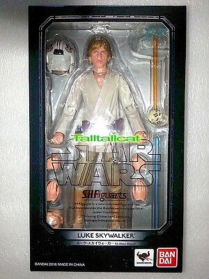 BANDAI S.H.Figuarts Star Wars LUKE SKYWALKER (A New Hope) Action Figure