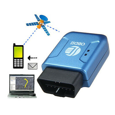 OBD2 OBDII GPS GPRS Real Time Tracker Car Vehicle Tracking System Geo-fence Gift