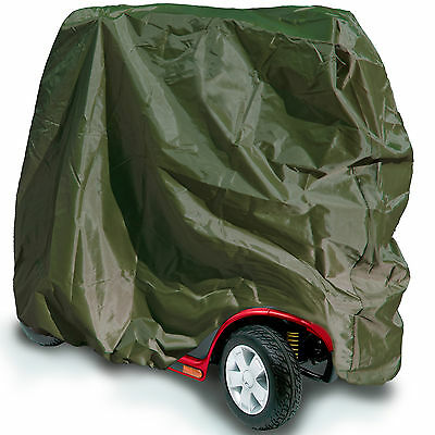 Water Resistant Large Mobility Scooter Cover Heavy Duty Rain Green 147x71x140 cm