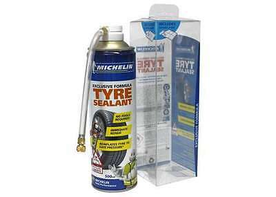 Michelin Tyre Weld Sealant 500MLEmergency Puncture Repair Tyre Inflator, CAR