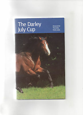 Newmarket (Darley July Cup) Thursday 8th July 1999 Race Card