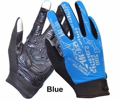 Outdoor Sports Cycling Climbing Rider Anti-Slip Full Finger Touch Screen Gloves