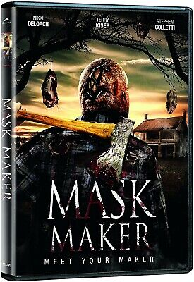 Mask Maker(Brand New Dvd!)Nikki Deloach,Terry Kiser,Stephen Colletti