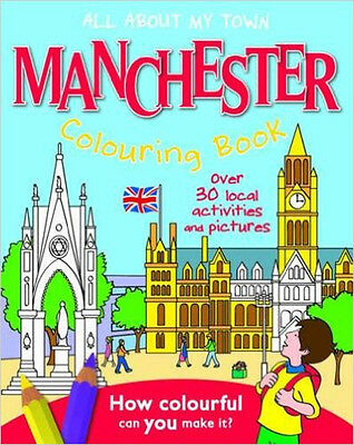 Manchester Colouring Book: All About My Town, New, John MacGregor Book