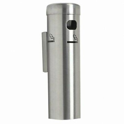 Wall Mounted Cigarette Butt Receptacle for Smokers - Public Aluminum Outdoors