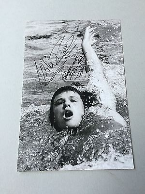 ULRIKE RICHTER (DDR) OLYMPIA 1976/3 x 1.  Schwimmen signed Photo 10x15
