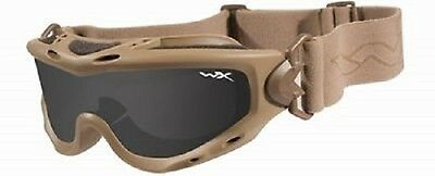 US Army NATO Forces WileyX SPEAR GOGGLE Military Ballistic Brille Tan