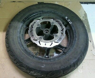 Honda Dylan 125 Ses 4Str 2007 Front Wheel And Tyre And Brake Discs / Parts / Bre