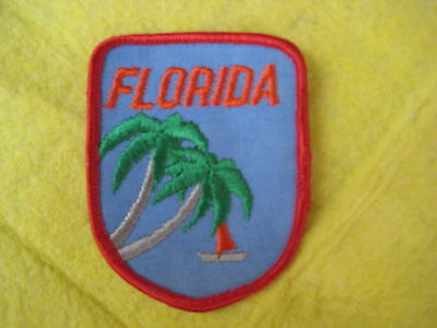 """Vintage State Of Florida Patch 2 5/8"""" X 3 1/4"""""""