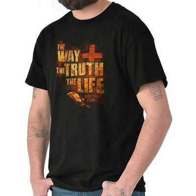The Way of Truth Christian Gift Cool Jesus Christ Bible God T Shirt