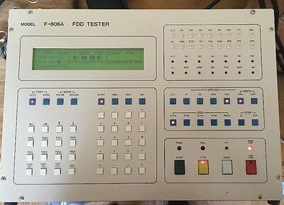 SAC F-806A FDD Floppy Disk Drive Tester Analyzer Used Free Shipping