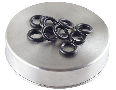-110 o-ring 10 pack | hardness 70 | Black color coded oring by Flasc Paintball