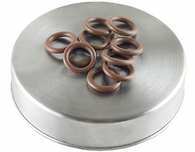 -111 o-ring 10 pack | hardness 70 | Brown color coded oring by Flasc Paintball