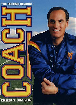 Coach - The Second Season(Two Disc Box Set) Brand New Dvd's //craig T Nelson