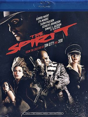 NEW 2 DISC BLU RAY set  - The Spirit - Samuel L. Jackson, Gabriel Macht