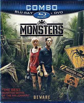 Monsters (BRAND NEW Blu-ray/DVD COMBO) Whitney Able, Scoot McNairy