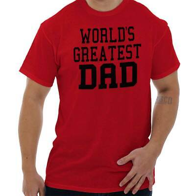 22eb684b8 Worlds Greatest Dad Shirt for Men Father Day Gift Idea Papa T Shirt Tee For  Men