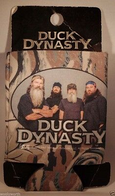 Duck Dynasty Can Cooler Coozie Camo New