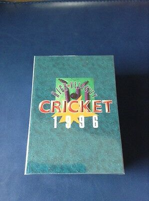 1996 High Velocity New Zealand Cricket FULL SET of Common Cards (90 Total) ^^^