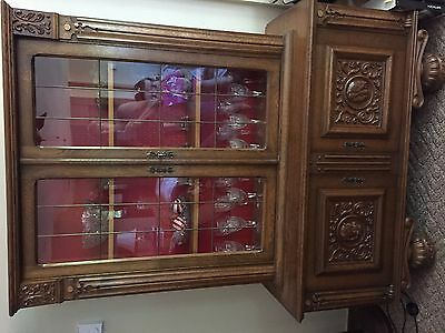 German Antique Hutch