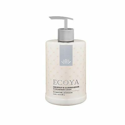 Ecoya Hand & Body Lotion COCONUT & ELDERFLOWER 500ml