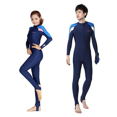 Full Dive Skin Jump Suit Wimming Wetsuits  dive suit men or women