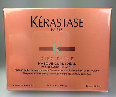 Brand New Boxed Kerastase Discipline Masque Curl Ideal 200ml