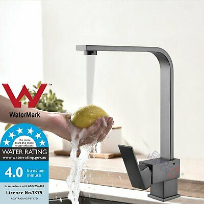 Watermark BLACK ONXY Pull Out Basin Faucet Spout Kitchen Sink Laundry Mixer Tap