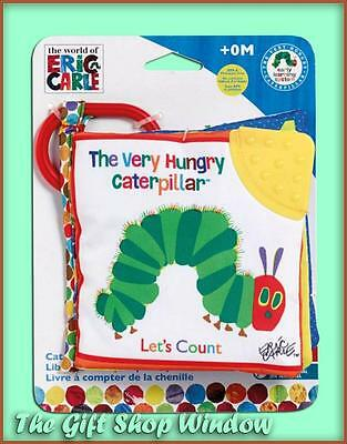 The Very Hungry Caterpillar Lets Count Soft Book Eric Carle Brand New - Teether