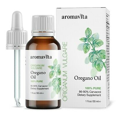 Oil of Oregano oil 100% Pure Natural Essential Oil 1oz/30ml  86-90% Carvacrol