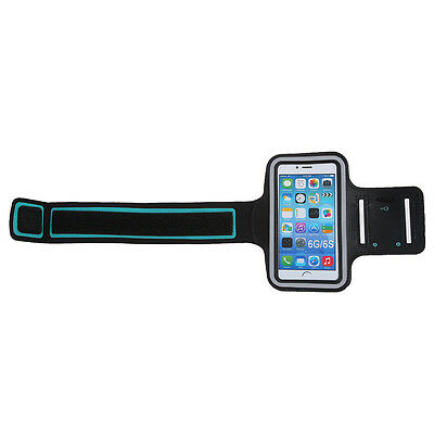 iPhone 6S Sports Gym Armband Case Premium Running Jogging Cover Holder Black N3