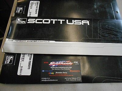 Scott Goggles 89S 83S Competition TEAR OFF System 10-Pack
