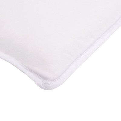 "Fitted Sheet Arm's Reach Co-Sleeper Bassinets 100% Cotton Natural 19""x34"""