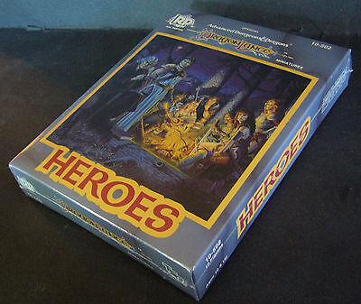 Ral partha dungeons & dragons dragonlance heroes Boxed set new 10-502 Very rare