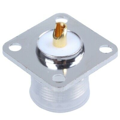 UHF Female SO239 Panel Chassis Mount Flange Mount Solder Cup RF Connector N3