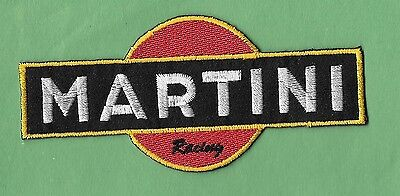 """New Martini Racing   2 X 4 1/2"""" Inch  Iron on Patch Free Shipping"""