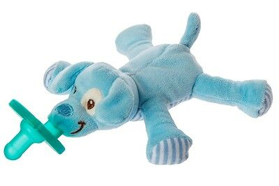 New Mary Meyer Baby Infant Soothie WubbaNub Pacifier ~ Blue Puppy