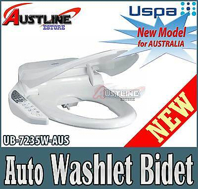 USPA UB-7235 Bidet Electric Auto Toilet Seat Warm Water Washlet Dry Elongated