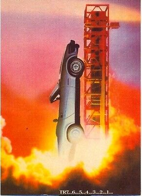 Triumph TR7 Convertible - Modern postcard by Vintage Ad Gallery