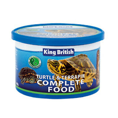 King British Turtle & Terrapin Food 80gm