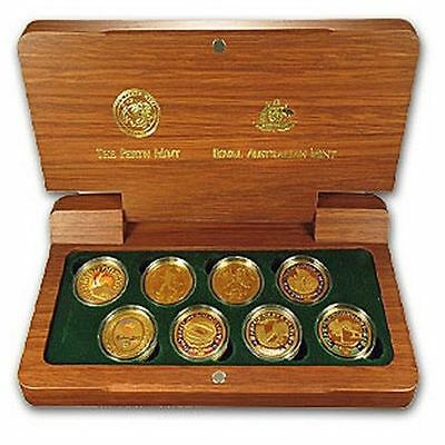 Official Millenium Sydney Olympic 2000 solid gold coin proof set-mint cond+certs