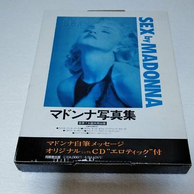 Very Good! -SEX by MADONNA- Japan Edition Photo Book w/Box