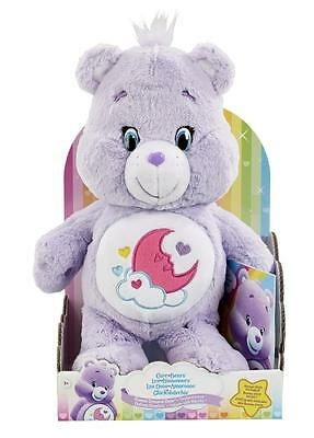 Care Bears JP43491.4300 Super Soft & Cuddly Sweet Dreams Bear Plush Toy with DVD